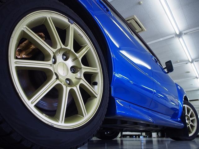スバル インプレッサ WRX STi 社外エアロ HID カーボンウィング