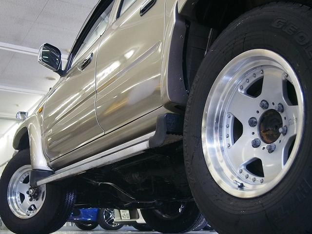 ダブルキャブ 4WD 社外メモリーナビ サンルーフ Bカメラ(7枚目)