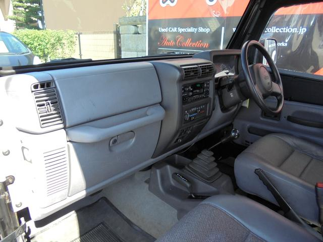 クライスラー・ジープ クライスラージープ ラングラー スポーツ 切り替え式4WD マニュアル5速 ディーラー車