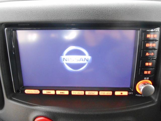 日産 キューブ 15X HDDナビ フルセグ DVD再生