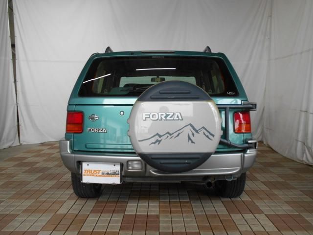 フォルザ 4WD 純正キーレス 社外アルミ(6枚目)
