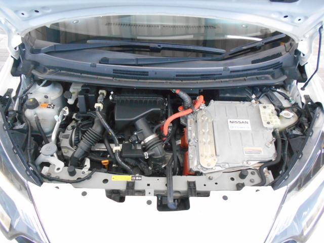 e-パワー X エマージェンシーブレーキ バックカメラ 社外SDナビ BTオーディオ レーンアシスト インテリキー ETC 横滑り防止 プッシュスタート 電格ミラー アイドリングストップ 走行4万km台(20枚目)