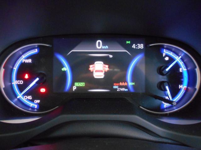ハイブリッドG 4WD サンルーフ レザーシート 寒冷地仕様 パワーバックドア LEDヘッド フルセグ DVD再生 ブラインドモニター セーフティセンス ビルトインETC スマートキー2個 走行2千km台(17枚目)
