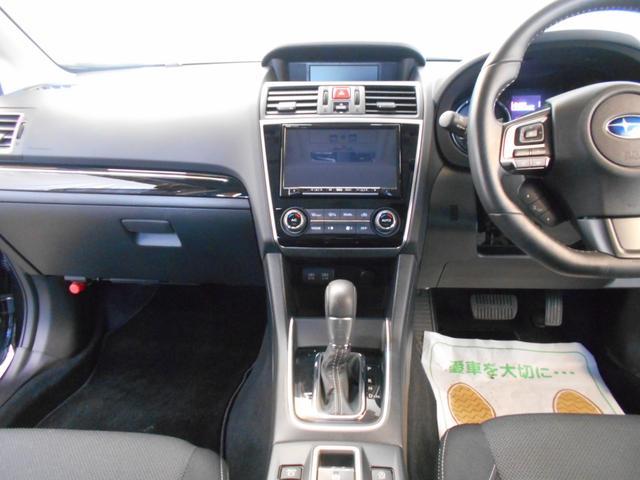 1.6GTアイサイト 4WD メモリーナビ バックカメラ 純正アルミ スマートキー2個 LEDヘッドライト パドルシフト フルセグ DVD再生 BTオーディオ 前席シートヒーター アイサイトセーフティプラス 走行2万km台(14枚目)