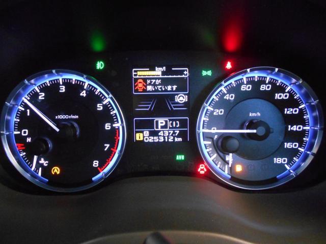 1.6GTアイサイト 4WD メモリーナビ バックカメラ 純正アルミ スマートキー2個 LEDヘッドライト パドルシフト フルセグ DVD再生 BTオーディオ 前席シートヒーター アイサイトセーフティプラス 走行2万km台(17枚目)