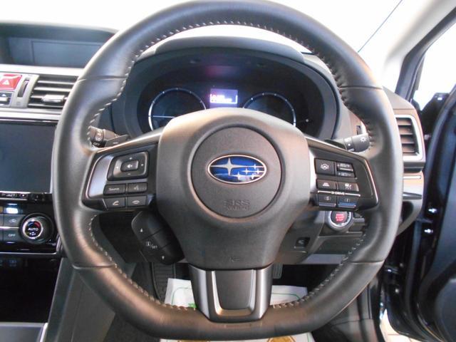 1.6GTアイサイト 4WD メモリーナビ バックカメラ 純正アルミ スマートキー2個 LEDヘッドライト パドルシフト フルセグ DVD再生 BTオーディオ 前席シートヒーター アイサイトセーフティプラス 走行2万km台(45枚目)