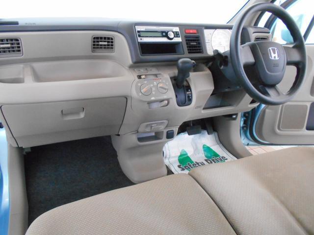 C 純正CD AUX端子 ベンチシート キーレス スペアキー ABS バニティミラー マッドガード プライバシーガラス ライトレベライザー 走行4万km台(8枚目)