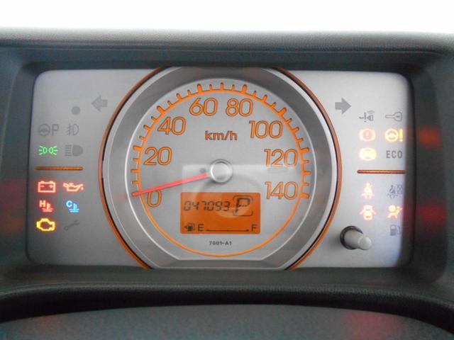 C 純正CD AUX端子 ベンチシート キーレス スペアキー ABS バニティミラー マッドガード プライバシーガラス ライトレベライザー 走行4万km台(17枚目)