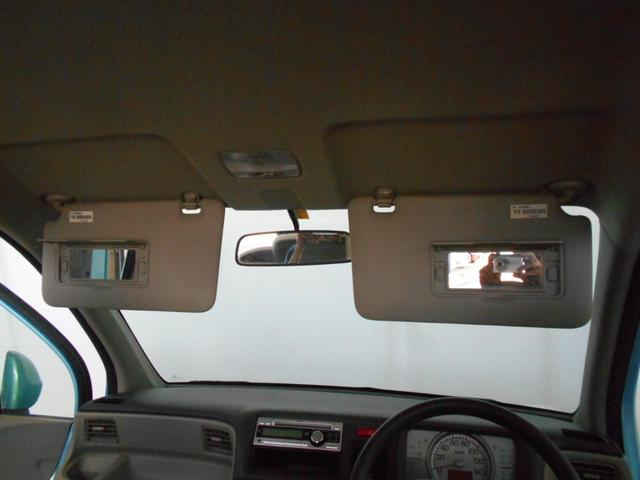 C 純正CD AUX端子 ベンチシート キーレス スペアキー ABS バニティミラー マッドガード プライバシーガラス ライトレベライザー 走行4万km台(48枚目)