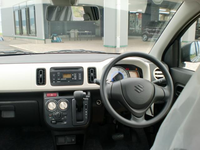 スズキ アルト L 届出済未使用車 レーダーブレーキサポート 純正CD