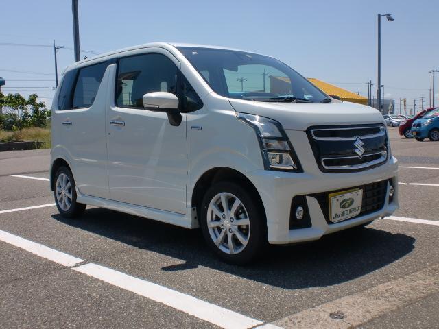 「スズキ」「ワゴンRスティングレー」「コンパクトカー」「新潟県」の中古車16