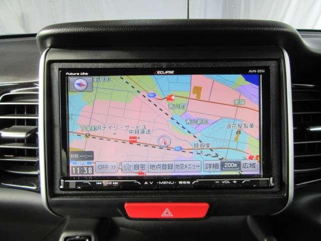 メモリーナビ搭載車!!ナビ起動までの時間と地図検索する速度が最大の魅力で、初めての道でも安心・快適なドライブをサポートします