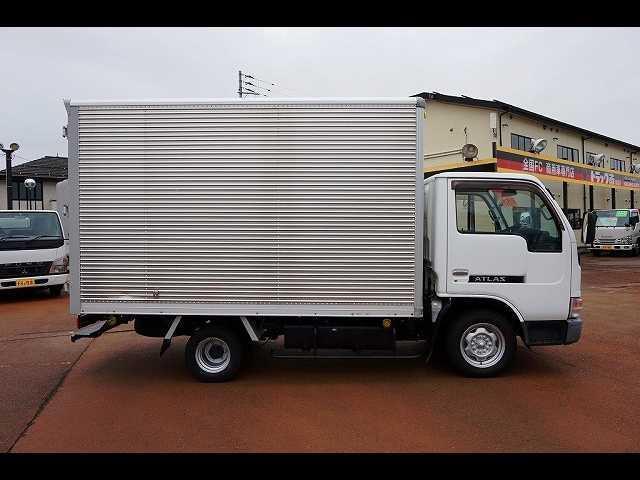 日産 アトラストラック 1.5t SL Wタイヤ ガソリン アルミバン