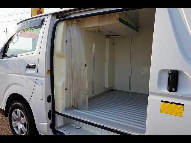 中温冷凍車 3人乗り 4ドア 冷凍機/デンソー CGA139 -7度〜35度設定 -7度確認