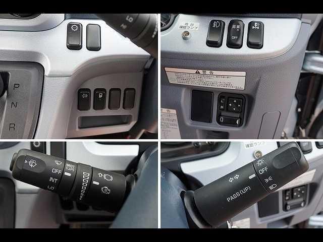 オートAC PS PW SRS ABS 左右電格ミラー/電動角度調整 排気ブレーキ キーレス 運転席シートダンパー/肘掛け フォグランプ ルーフキャリア付 インパネAT