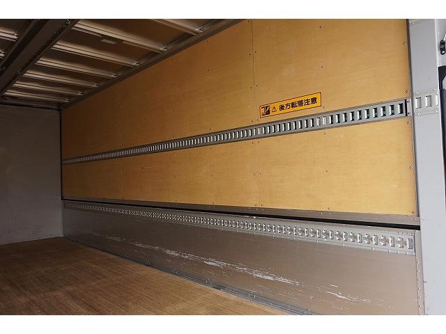 2.6t ワイドベッド付 ウイング PG/1,000kg付 リモコン付 R上部跳ね上げ式 セイコーラック 床フック5対 ラッシング2段 6速MT 電格ミラー キーレス バックモニター エアサスシート(30枚目)