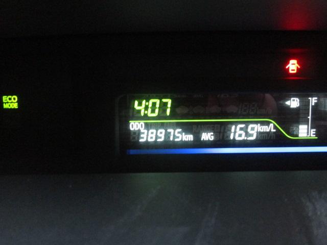 走行38,975km!