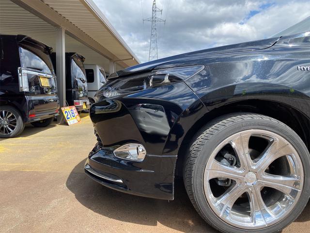 プレミアム 4WD モデリスタリップスポイラー メッキパーツ 20インチホイール 9インチナビ シートヒーター パワーシート 電動リアゲート ナビテレビ(9枚目)