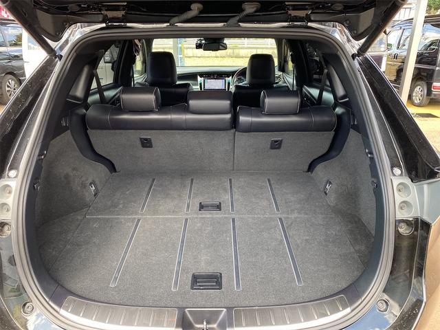 プレミアム 4WD モデリスタリップスポイラー メッキパーツ 20インチホイール 9インチナビ シートヒーター パワーシート 電動リアゲート ナビテレビ(43枚目)