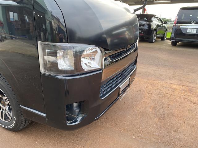 ロングスーパーGL ナビテレビ 社外アルミ 4WD 4型フェイス変更 社外テールランプ 新品リアベッド 社外ボンネット(9枚目)