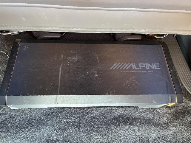 ロングスーパーGL ナビテレビ 社外アルミ 4WD 4型フェイス変更 社外テールランプ 新品リアベッド 社外ボンネット(27枚目)