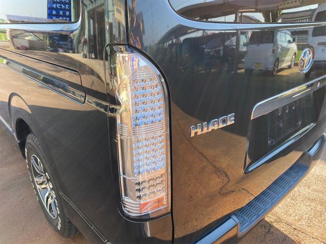 ロングスーパーGL ナビテレビ 社外アルミ 4WD 4型フェイス変更 社外テールランプ 新品リアベッド 社外ボンネット(29枚目)