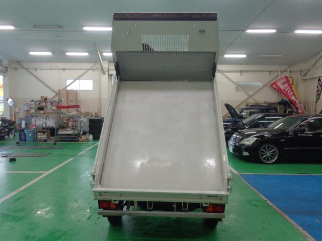 ダイハツ ハイゼットトラック ダンプ 4WD 5速マニュアル パワステ