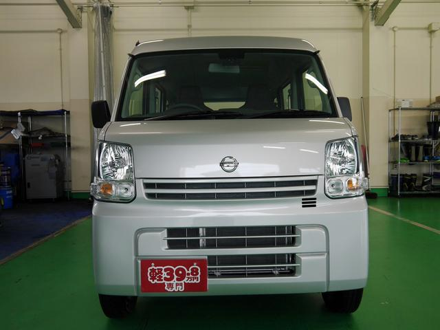 日産 NV100クリッパーバン DX HR 4WD エマージェンシーブレーキ