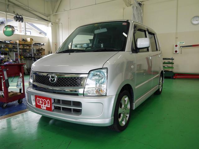 マツダ AZワゴン FX-Sスペシャル SONYポータブルナビ ETC キーレス