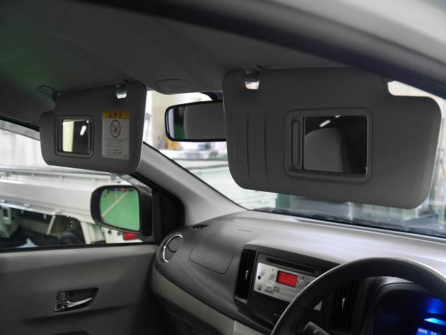 ■運転席と助手席のサンバイザーにはバニティミラーが付いています☆