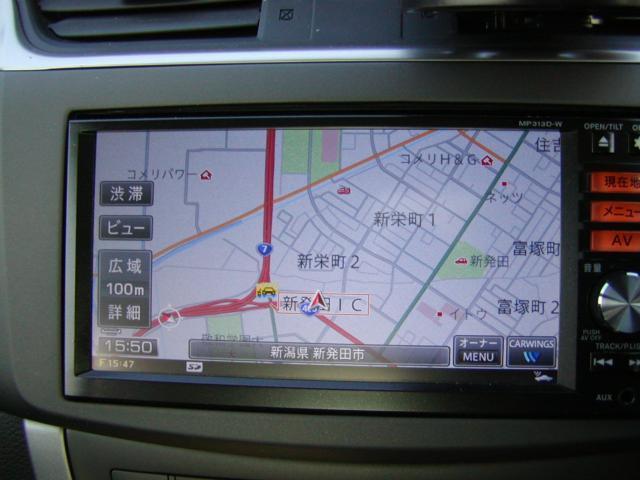 X 純正フルセグTV メモリーナビ ETC バックカメラ付き(6枚目)