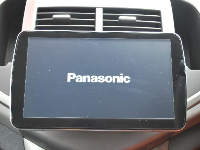 シボレー シボレーソニック ベースグレード 社外9インチナビTV バックカメラ