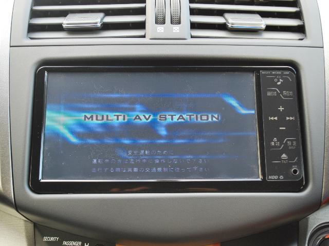 240S Gパッケージ 4WD 純正HDDナビTV(6枚目)