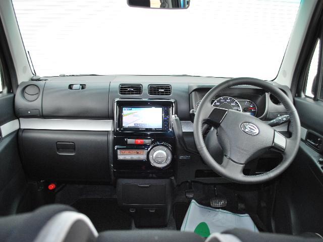 カスタム RS 4WDターボ 社外ナビTV ワンオーナー車(6枚目)