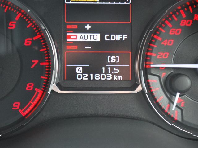 STI タイプS 4WD 6速MT 純正メモリーナビTV(19枚目)