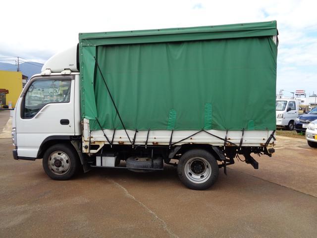 日産 アトラストラック 平 ホロ幌 4WD 積載2t 10尺ボデー 荷台鉄板張り