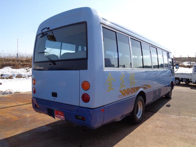 29人乗り マイクロバス 4WD オートエアコン 自動ドア(4枚目)