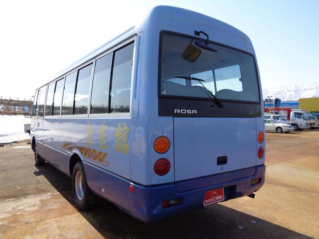 29人乗り マイクロバス 4WD オートエアコン 自動ドア(6枚目)