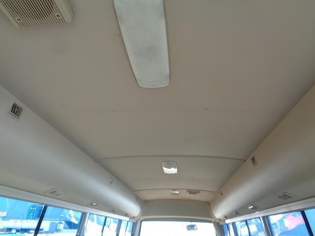 29人乗り マイクロバス 4WD オートエアコン 自動ドア(20枚目)