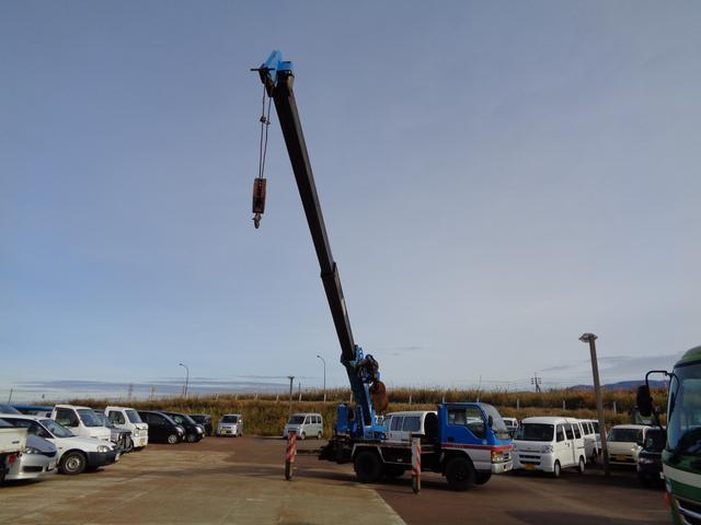 穴掘り建柱車 アイチ D502 3段 2.9t吊 1500h(20枚目)