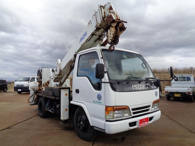 穴掘り建柱車 アイチ D502 ドリルオーガ付 エアコン(18枚目)