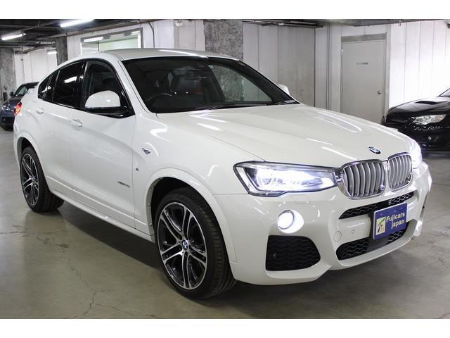 BMW BMW X4 xDrive 35i Mスポーツ ACC 車線逸脱 黒革