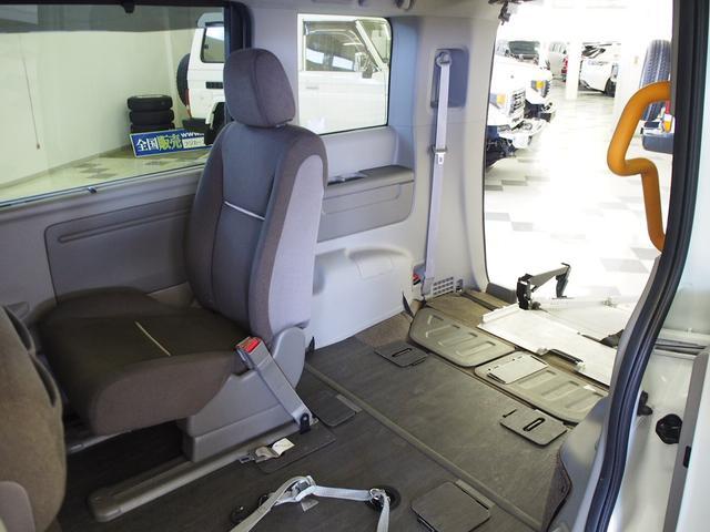 G 4WD 車いす2基固定 両側電動 電動ウィンチ クルコン(3枚目)