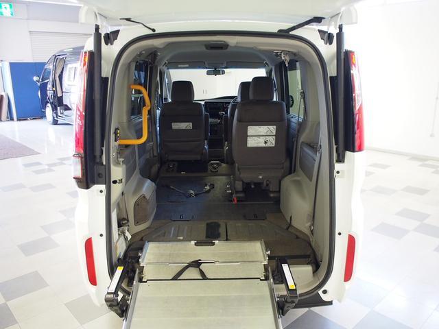 G 4WD 車いす2基固定 両側電動 電動ウィンチ クルコン(7枚目)