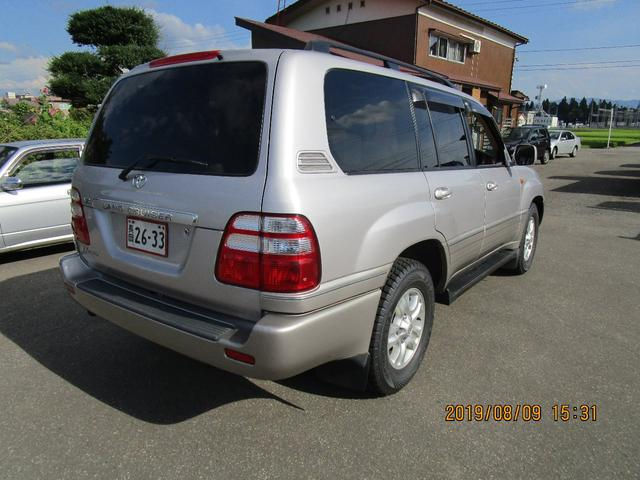 「トヨタ」「ランドクルーザー100」「SUV・クロカン」「新潟県」の中古車4
