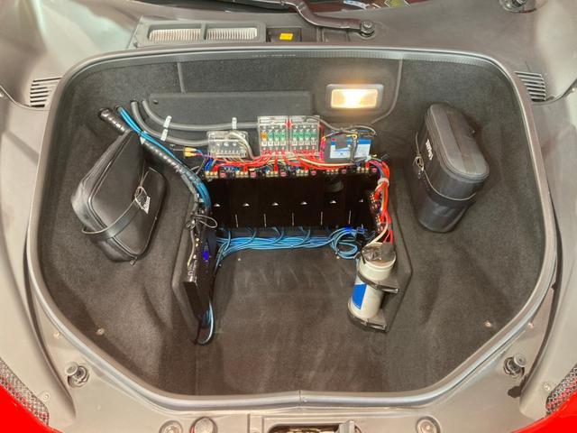 ベースグレード 正規D車/ドライバーゾーン付きカーボンLEDS/黒革電動シート&シートヒーター/ノビテックロッソエキゾースト&パワークラフトチタンテール/ノビテックロッソコイルスプリング/パーキングソナー/Bカメラ(33枚目)