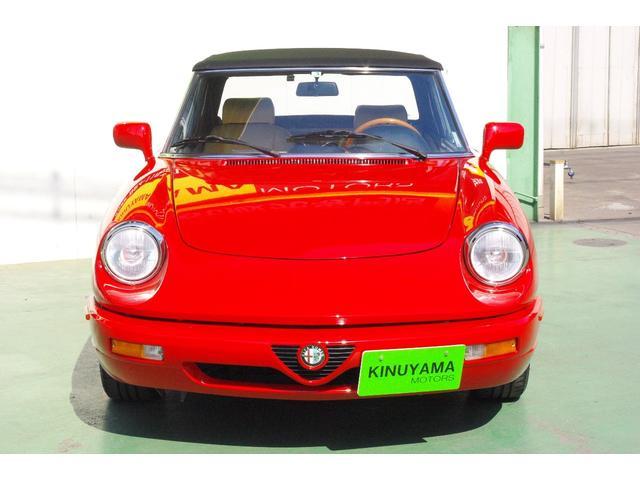 「アルファロメオ」「アルファスパイダー」「オープンカー」「愛媛県」の中古車3