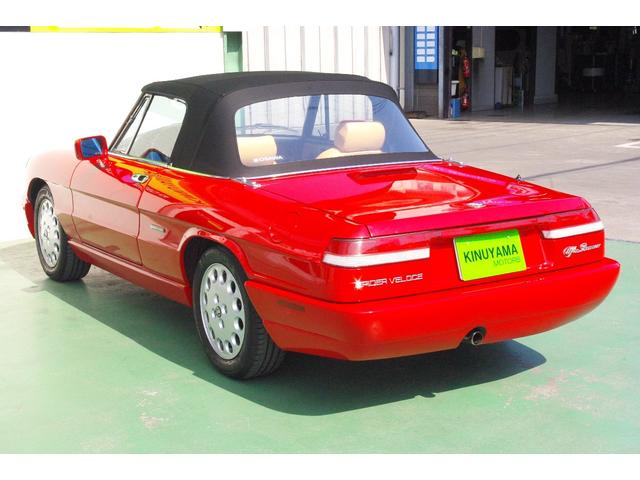 「アルファロメオ」「アルファスパイダー」「オープンカー」「愛媛県」の中古車6