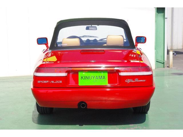 「アルファロメオ」「アルファスパイダー」「オープンカー」「愛媛県」の中古車7