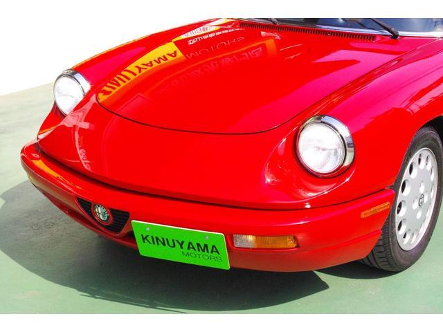 「アルファロメオ」「アルファスパイダー」「オープンカー」「愛媛県」の中古車11